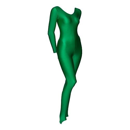 ac947ad16026 Katz Dancewear Ladies Girls Childrens Sizes Shiny Stirrup Dance Fancy Dress  Gymnastics Long Sleeve Unitard Catsuit