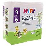 HiPP Babysanft Windeln für Kleinkinder, Geeignet von 8-14 kg, Gr. 4 (74-92), 4 Tragepack, 32 Stück - 7