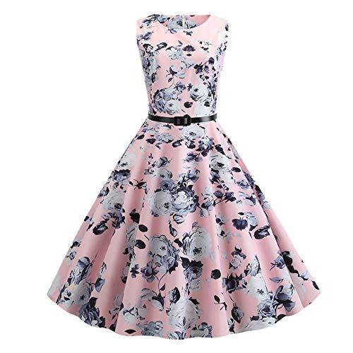 N\P Vestido de verano para mujer, corte entallado.