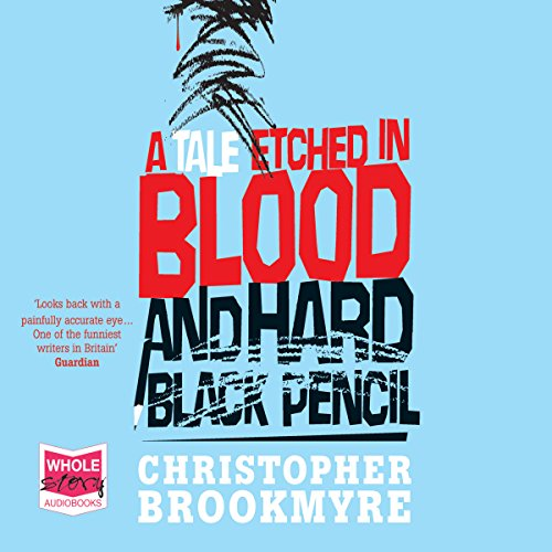 A Tale Etched in Blood and Hard Black Pencil audiobook cover art