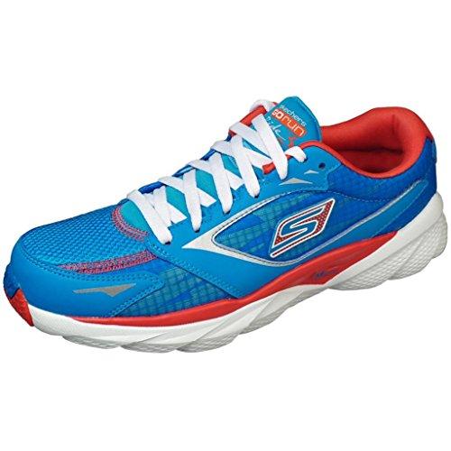 Skechers Performance Women's Go Run Ride 3 Running Shoe,Blue/Red,9 M US