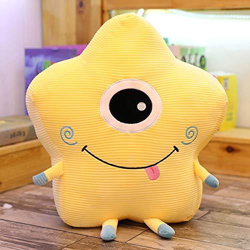 feimeifen Plush Toy Sun Star Moon Pillow 40cm E