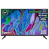 TV LED INFINITON 32' INTV-32MA401 HD 400HZ - Smart TV - Android 9.0 - Reproductor y Grabador USB - HDMI - Modo Hotel