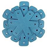 ENJY Protection Casserole Casser en 12 pièces Kit de séparateur de Cuisine Tiroir de Cuisine Résistant à Une Batterie de Batterie de Cuisine résistant aux gratters (Color : Blue)