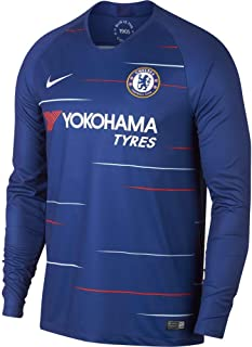 Chelsea 2018 Home Long Sleeve Soccer Jersey