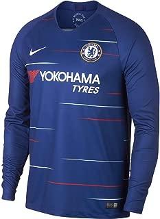 Nike Chelsea 2018 Home Long Sleeve Soccer Jersey