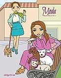 Moda libro para colorear para chicas 2 (Spanish Edition)