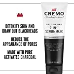 Cremo Detoxifying 2-in-1 Scrub & Mask, Activated Charcoal, 4 oz 5