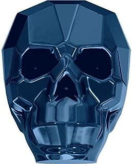 5750 Swarovski Crystal Beads Skull 13mm | Crystal Metallic Blue 2X | 13mm - Pack of 3 | Small & Wholesale Packs