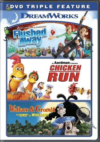 Flushed Away / Chicken Run / Wallace & Gromit Triple Feature