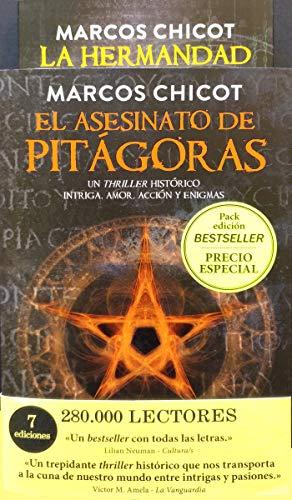 Pack regalo. El asesinato de Pitágoras y la hermandad (EDICION BESTSELLER)