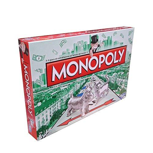 Hasbro Gaming–Monopoly Italian Version multi-coloured