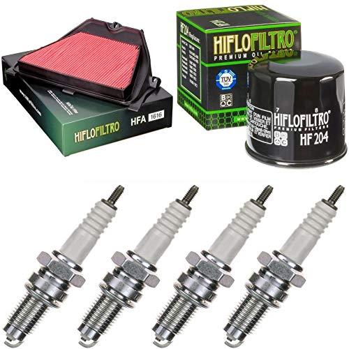 Filtro de aire, filtro de aceite, bujías para CBR 600 RR, año de construcción 2005 – 2006, kit de mantenimiento