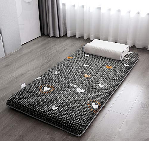 FYBDZCN Sleeping Tatami Floor Mat,Foldable Futon Tatami Mattress Soft Thick Japanese Mattress Pad Student Dormitory Bed Mattress Breathable Sleeping Pad D 80x190cm(31x75inch)