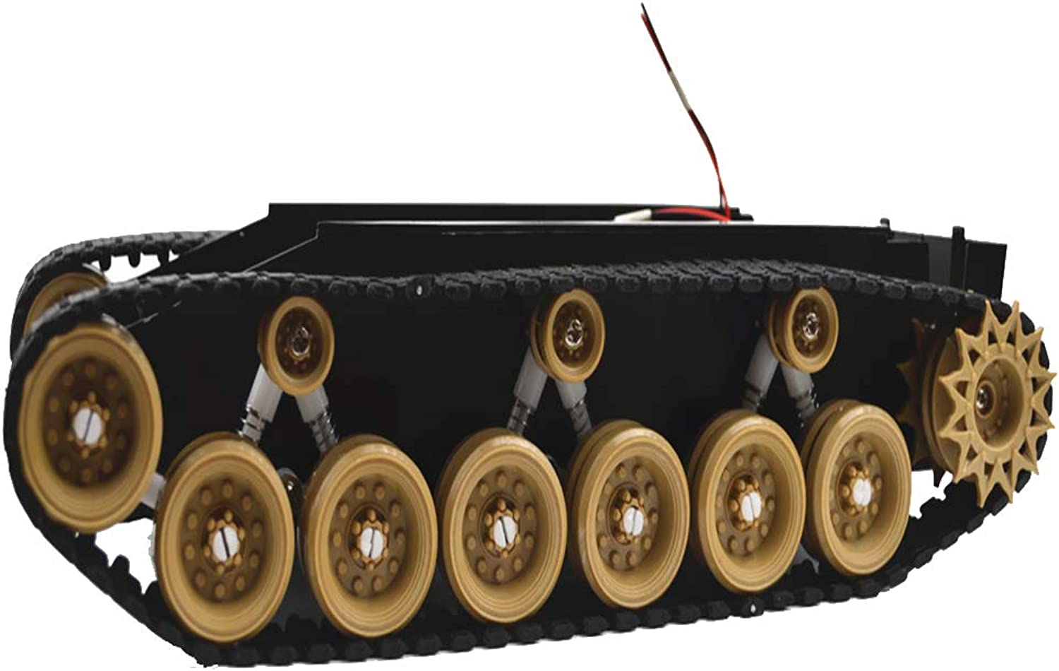 Baosity Smart Tank Chassis Platform with Shock Absorption System & Strong 260 Motors for Arduino Graduation