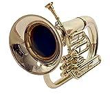 BB Schlüssel Messing Finish Euphonium Profis geprüft mit gratis Tasche