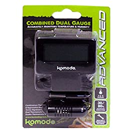 Komodo Combined Thermometer and Hygrometer Analog