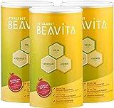 BEAVITA Vitalkost Plus Vanille - Substitut de Repas 3 x 500g – Programme Minceur en 14 jours – Shake délicieux accompagnant un régime – Sans Gluten Sans Substitut de Sucre