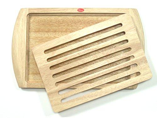 H&H Hackbrett für Brot, Holz, 23 x 38 cm