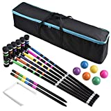 Best Croquet Sets - [6 Players]Premium Croquet Set for Families, BroWill Croquet Review