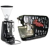 Barbera Macchina caffè Bar Professionale - 2 Gruppi + Macinadosatore Mazzer Super Jolly