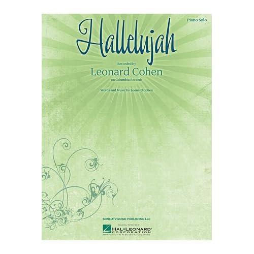 Hallelujah Piano Sheet Music: Amazon com