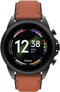 Fossil Herren Touchscreen Smartwatch 6. Generation mit Lautsprecher, Herzfrequenz, NFC und Smartphone Benachrichtigungen