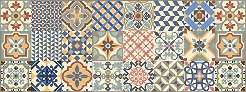 Vilber Toledo DU 01 52X140 Tappeto, Vinile, Multicolore, 52 x 140 x 0.22 cm