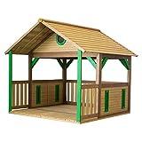 Beauty.Scouts Holzspielhaus Stine 173x180x180cm aus Zedernholz in braun Unterstand Kinder Spielhaus...