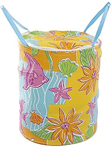 Evercrafting Cesto de Ropa Sucia, Bolsa de lavandería, 30 litros para Guardar Ropa y Juguetes (Color Aleatorio) (1)
