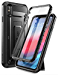 iPhone XS Max case, SUPCASE [Unicorn Beetle Pro Series] Full-Body Rugged Holster Case with Built-In Screen Protector kickstand for iPhone XS Max 6.5 inch 2018 Release (Black) (Renewed)