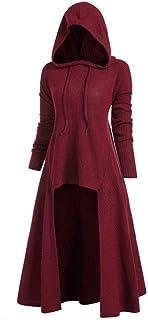 Briskorry Middeleeuwse jurk dames gothic steampunk vintage vloerlange avondjurken volwassenen partyjurk jaren 50 cocktailj...