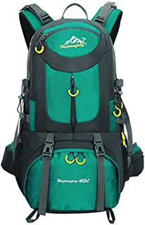 Bbwjsh Outdoor Backpack Mountaineering Bag Sports Backpack Men and Women Large Capacity Leisure Travel Travel Bag New Bag (Color : 4, Size : 60L)