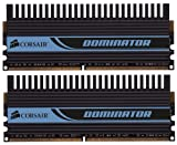 Corsair CMD4GX3M2A1600C8 Dominator 4 GB (2 x 2 GB) PC3-12800 1600MHz 240-Pin DDR3 Core i7 and Core i5 Memory Kit