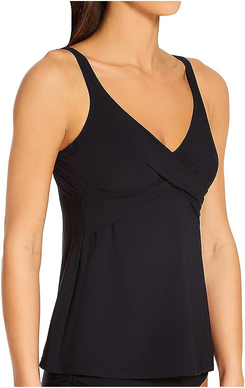 Anita Women's Summer Memories Maily Underwire Tankini Swim Top 8880-1 36G Black