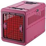 リッチェル キャンピングキャリー 折りたたみ L ピンク 中型犬