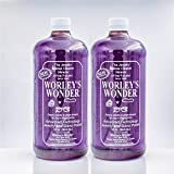 Worley's Wonder Jewelry & Glass Cleaner (32 Ounce Refill Bottle (2-Pack))