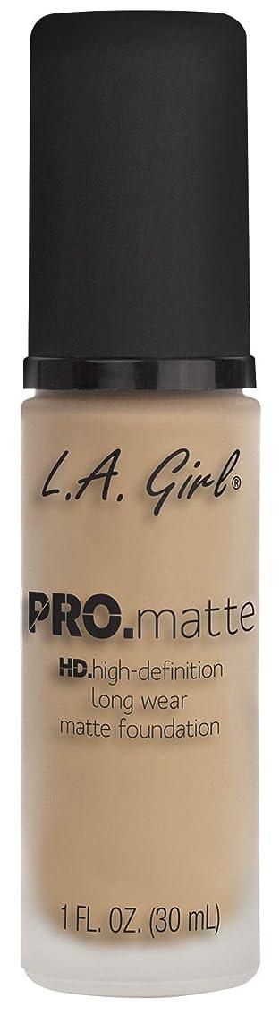 ラベルピボット確かなL.A. GIRL Pro Matte Foundation - Nude (並行輸入品)