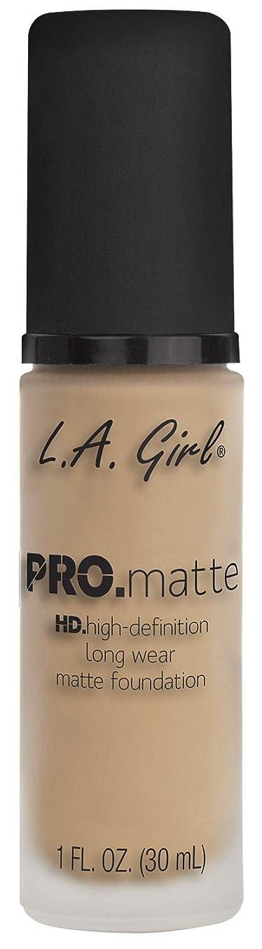 理想的骨髄ダルセットL.A. GIRL Pro Matte Foundation - Nude (並行輸入品)