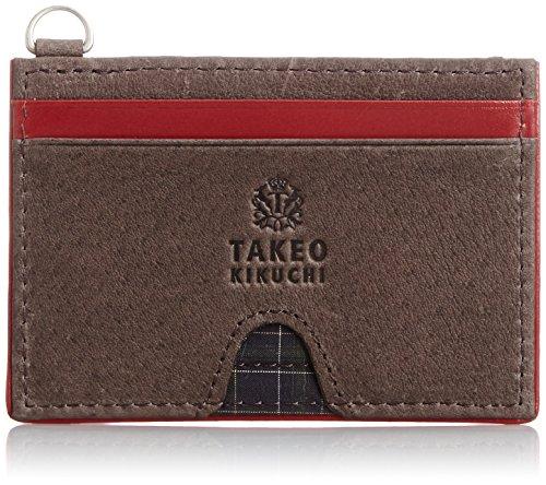 タケオ キクチ 定期入れ 小銭入れ付き レベッカ 702601 クロ