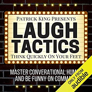 Laugh Tactics audiobook cover art