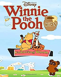 Winnie the Pooh Coloring Book for Kids: Fun , Easy Activity Book Coloring Pages for Develop the power of imagination for your children