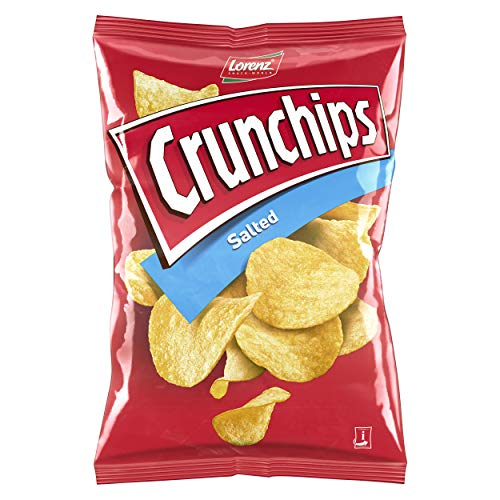 Lorenz Snack World Crunchips Salted, 20er Pack (20 x 175 g)