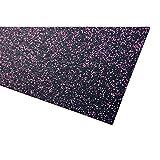 acerto 40471 Unterlegmatte für Fitnessgeräte * Unterlage 60x125cm (4mm) * pink * Robuster...