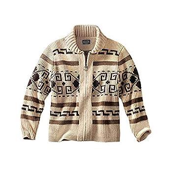 Pendleton Men s Original Westerley Sweater Tan/Brown Medium