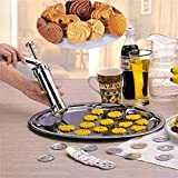 YENJO Aluminum Alloy Biscuit Press Cookie Maker Machine Mold Kitchen Bake Tools Cookie Presses