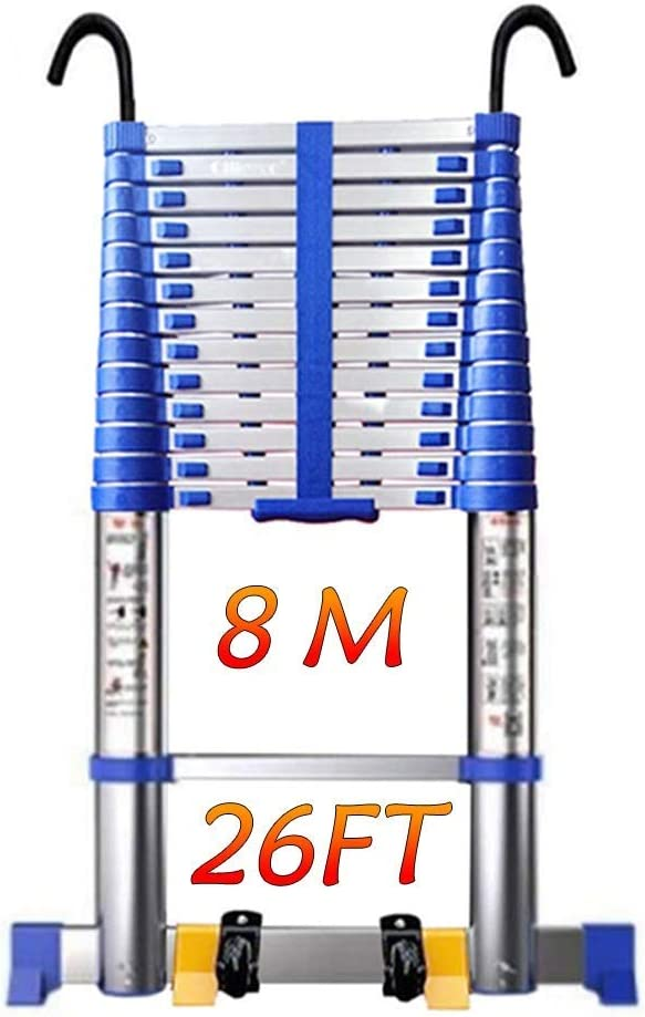 Manufacturer direct delivery Gububi Telescoping Ladder 8M Import Collap 26FT Tall