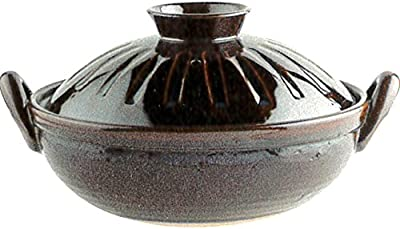 鍋 : アメしのぎ 手造り土鍋 9号土鍋 SN-182ME