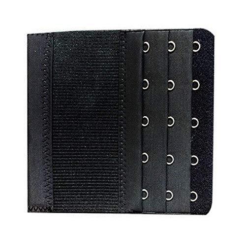 1 verlenging BH zwart 5 haken uittrekbaar 10/13 cm