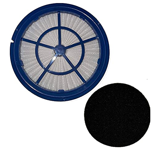 Zealing Filtro Hepa de repuesto de limpieza para piezas de aspiradora de filtro Proscenic P10 / P10 / P11 Pro